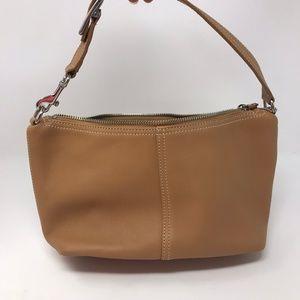 Coach Tan Mini Hobo Shoulder Bag